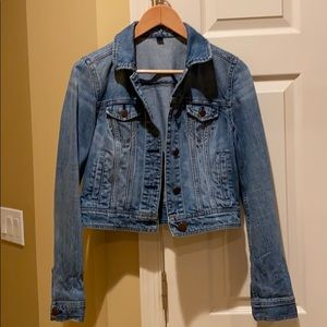 American Eagle Cropped Denim Jacket